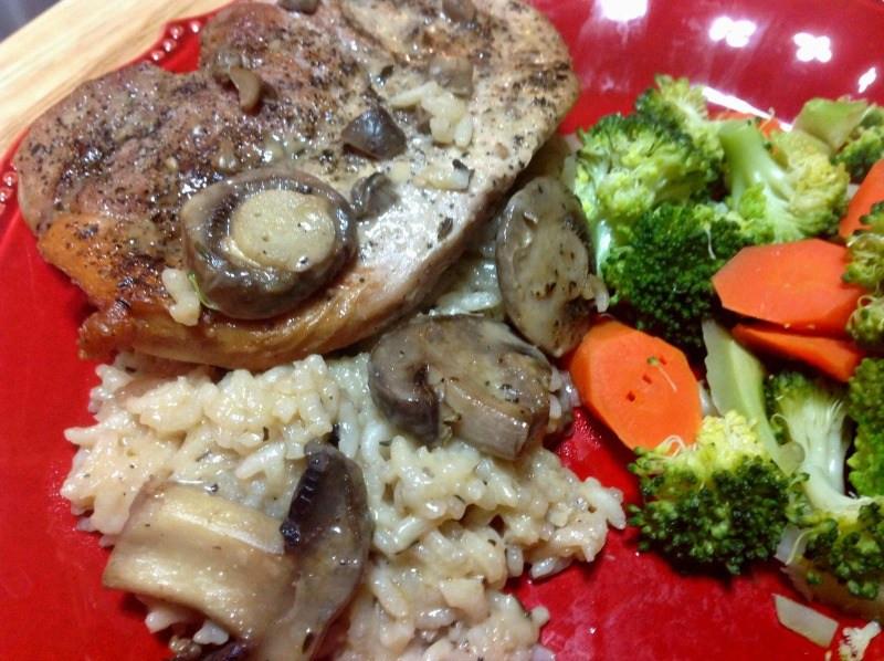 Pork Chops And Rice Cream Of Mushroom  Creamy Mushroom Pork Chop Rice