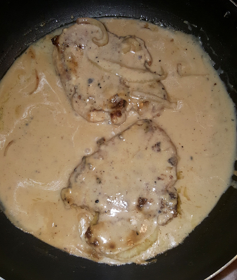 Pork Chops Cream Of Mushroom Soup  Grindz of the Day Don Quijote Safeway and Pomai's