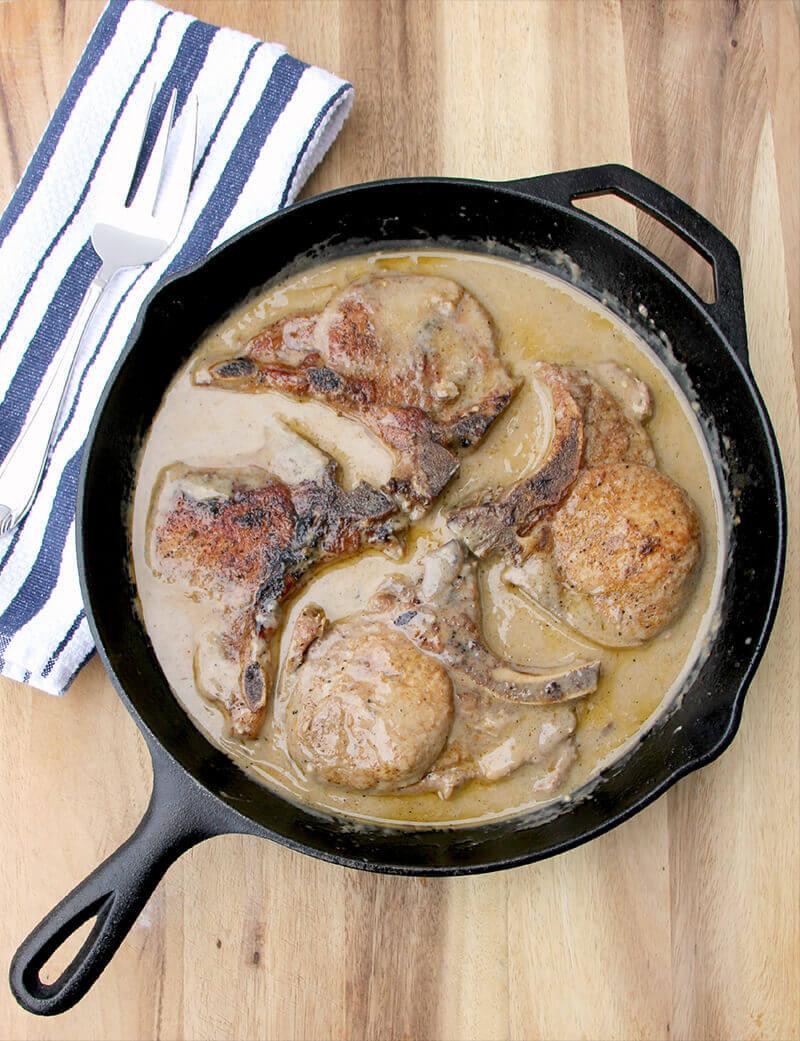 Pork Chops Cream Of Mushroom Soup  Baked Pork Chops with Cream of Mushroom Soup