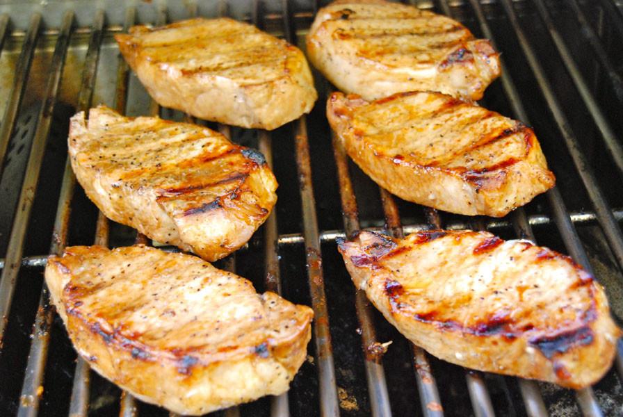 Pork Chops Internal Temp  Grilled Pork Chops
