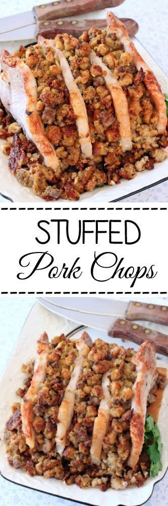 Pork Chops Internal Temp  Stuffed Pork Chops