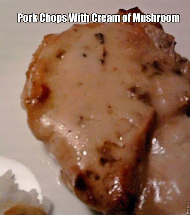 Pork Chops With Cream Of Mushroom Soup  Pork Chops With Cream Mushroom Soup