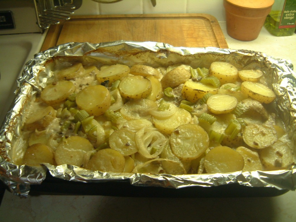 Pork Chops With Cream Of Mushroom Soup In Oven  f1024