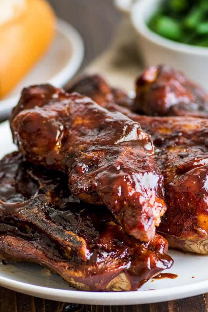 Pork Country Ribs  Easy Country Style Pork Ribs in the Oven Baking Mischief