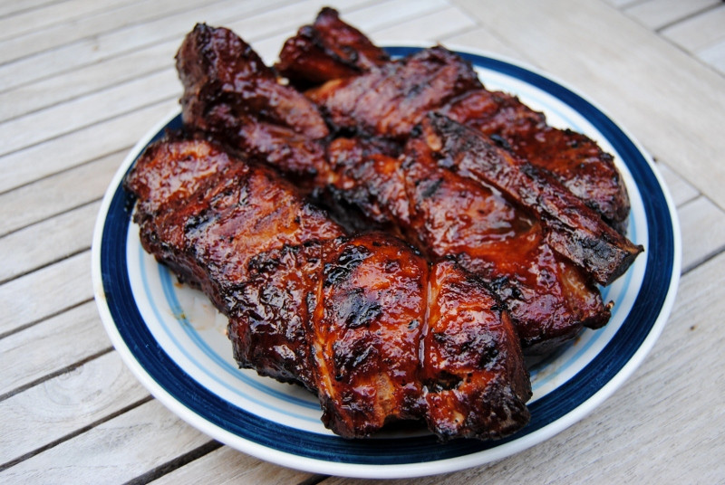 Pork Country Ribs  Grilled Barbecue Country Style Pork Ribs – Diana Dishes