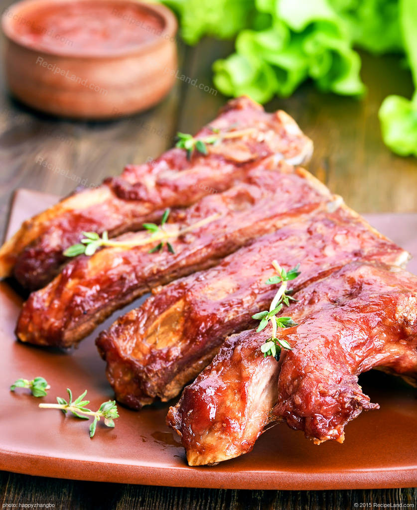 Pork Country Ribs  Barbecued Country Style Pork Ribs Recipe