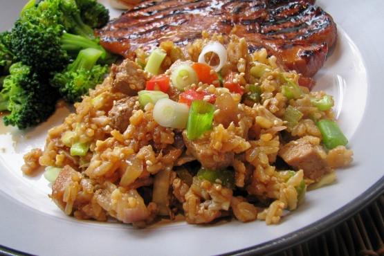 Pork Fried Rice Calories  pork fried rice nutrition