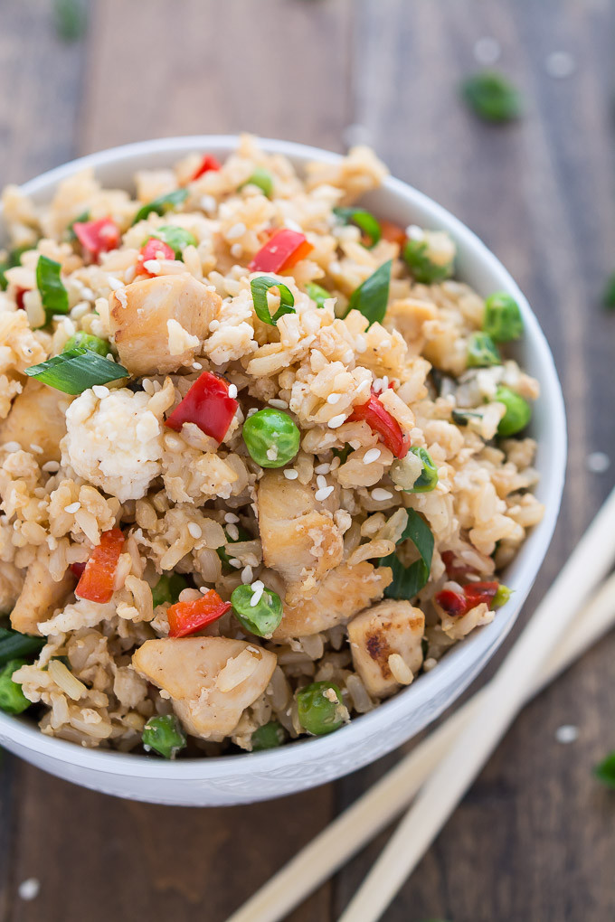 Pork Fried Rice Calories  chicken fried rice calories