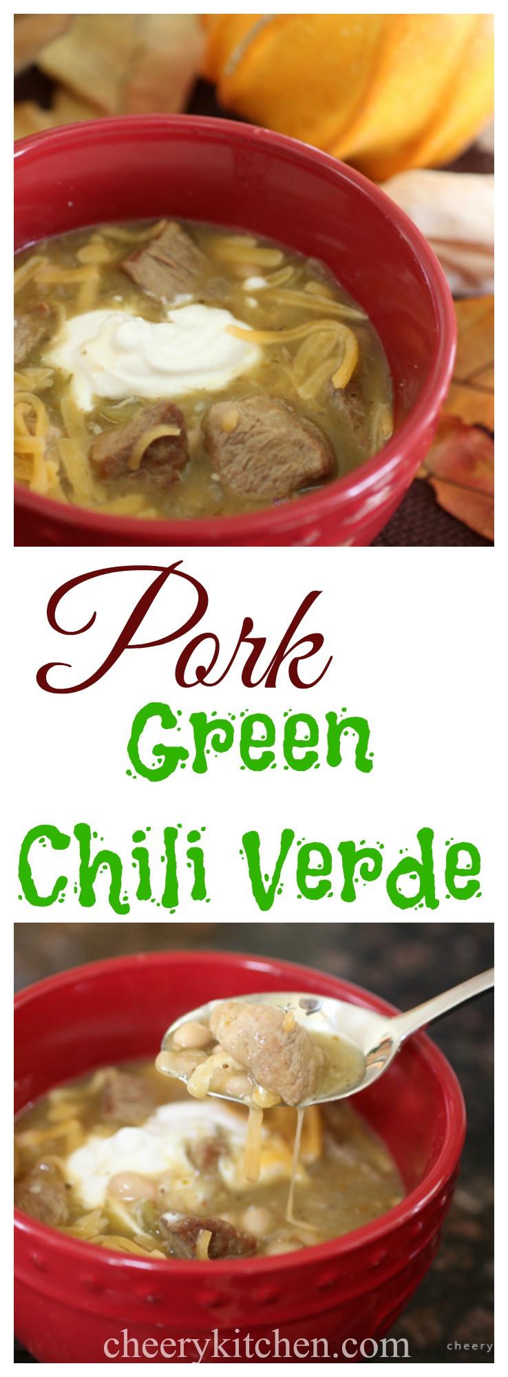 Pork Green Chili  Pork Green Chili Verde