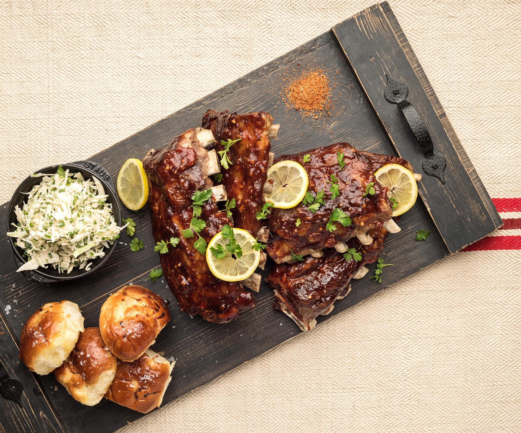 Pork Loin Back Ribs Oven  Oven Roasted Back Ribs Pork Recipes Pork Be Inspired