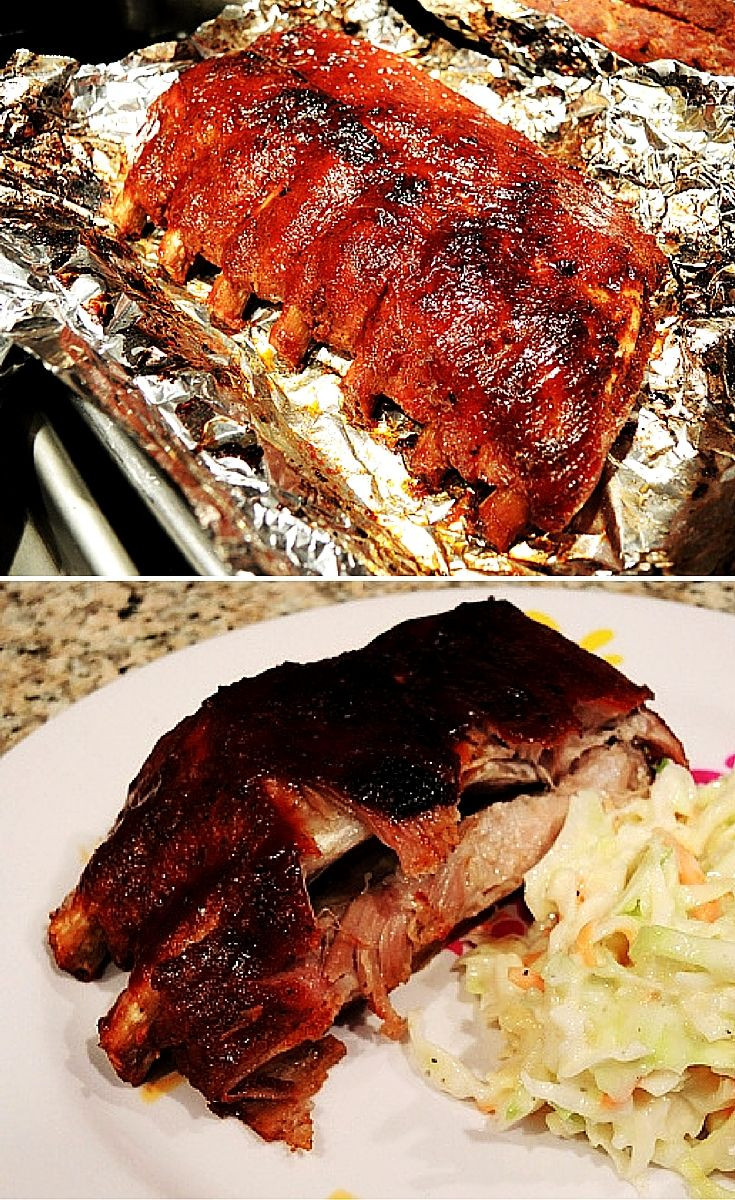 Pork Loin Back Ribs Oven  Fall f The Bone Baby Back Ribs in the Oven