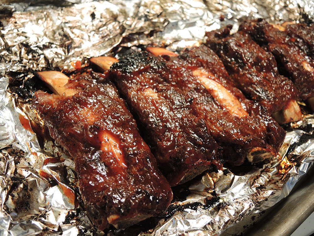 Pork Loin Back Ribs Oven  Dry Rubbed Fall f The Bone Beef Ribs in the Oven – Man
