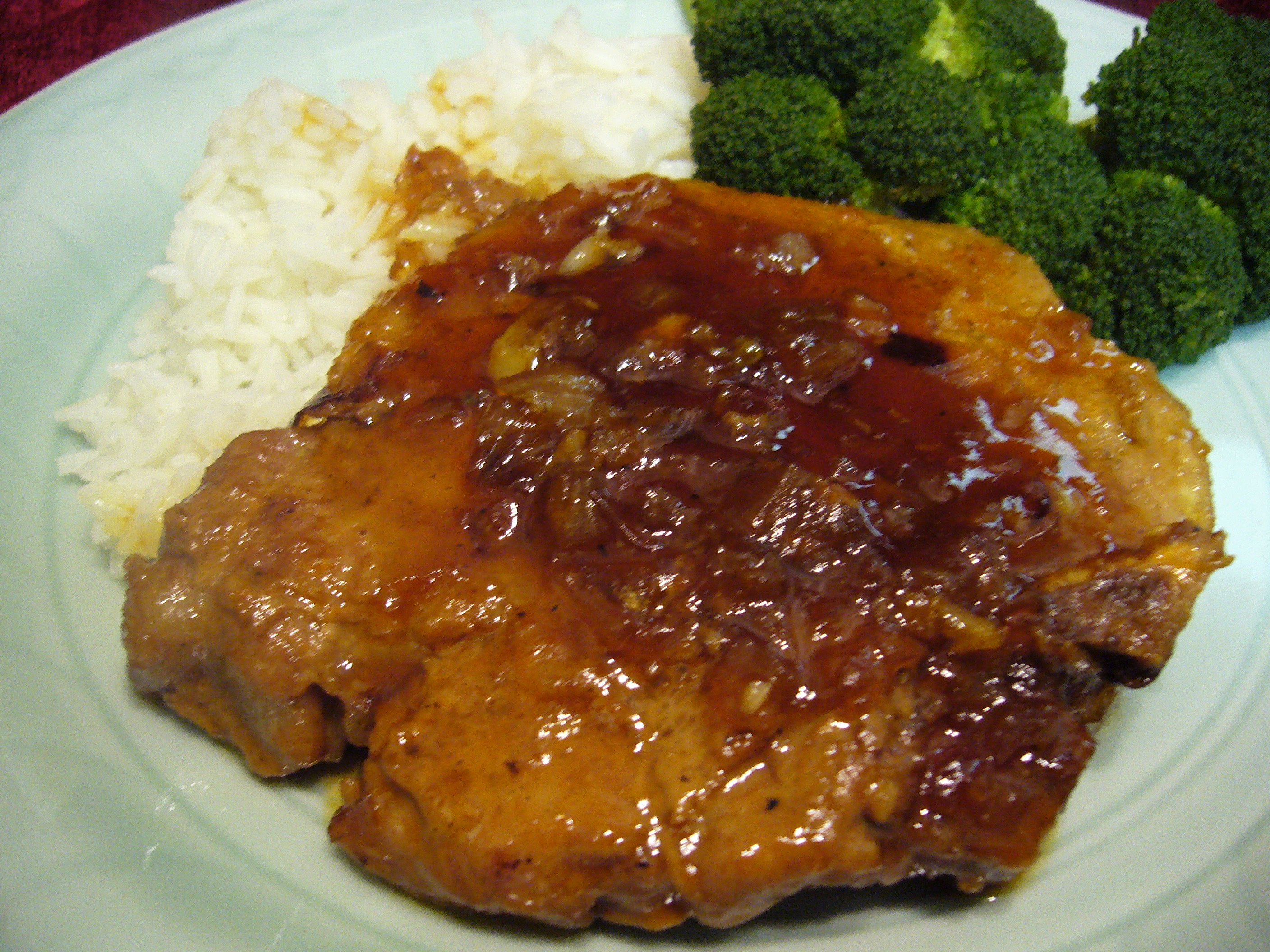 Pork Loin Chops Recipes  Asian Apricot Glazed Pork Loin Chops • Recipes Club Flyers