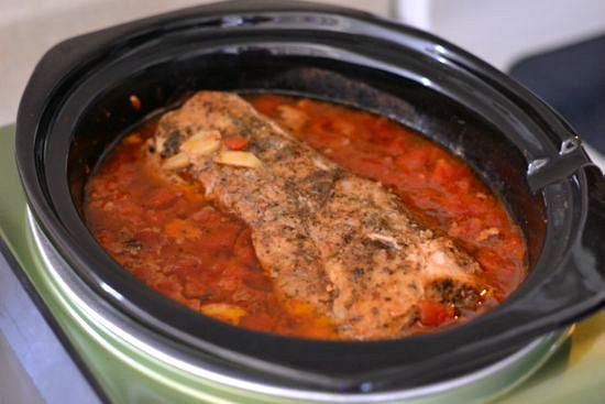 Pork Loin Crock Pot Recipe  Crock Pot Mexican Pulled Pork Tacos Flour My Face