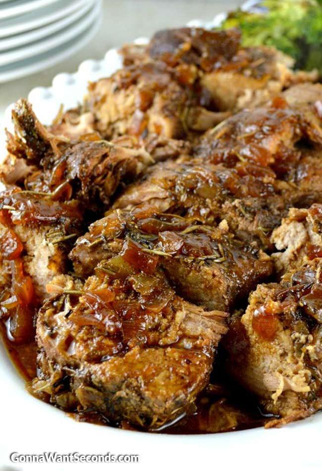 Pork Loin Crockpot  best pork tenderloin slow cooker recipe