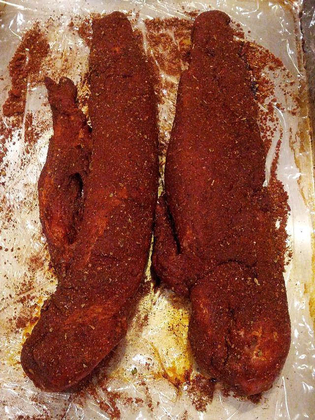 Pork Loin Dry Rub  34 best images about Recipes pork dry rub on Pinterest