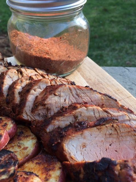 Pork Loin Dry Rub  How to Make Dry Rubbed BBQ Grilled Pork Tenderloin Recipe