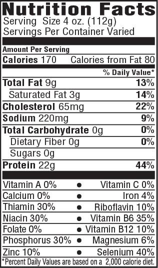 Pork Loin Nutrition  Tender Choice Pork Loin Roast