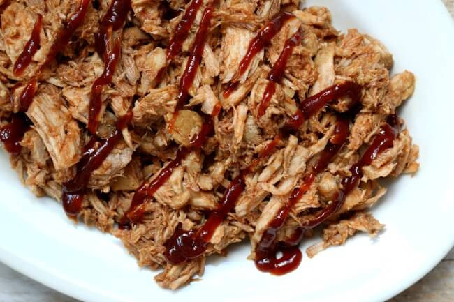 Pork Loin Pulled Pork  Skinny Crockpot BBQ Pulled Pork 365 Days of Slow Cooking