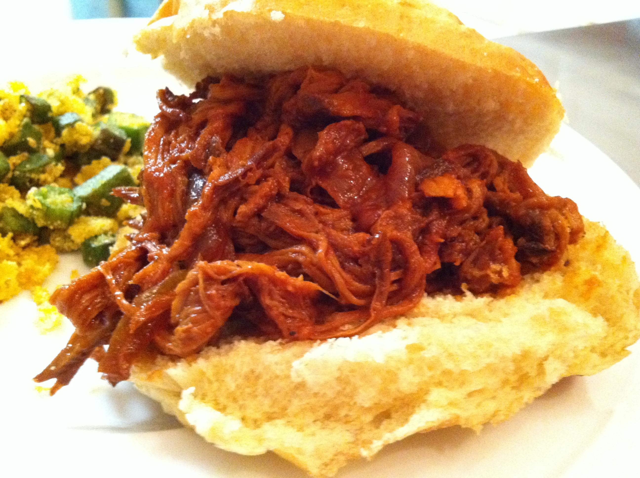 Pork Loin Pulled Pork  crock pot pulled pork tenderloin