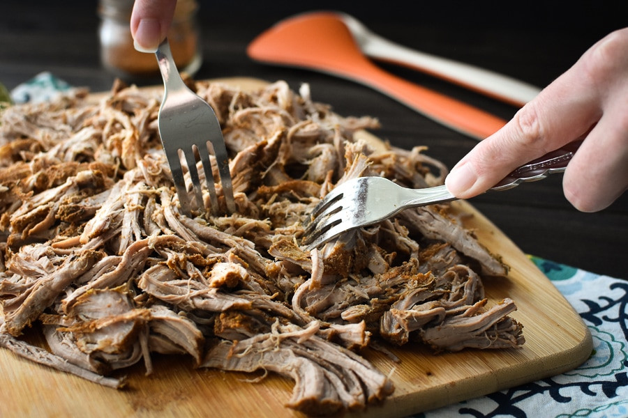 Pork Loin Pulled Pork  Slow Cooker 21 Day Fix Southwestern Pulled Pork Tenderloin