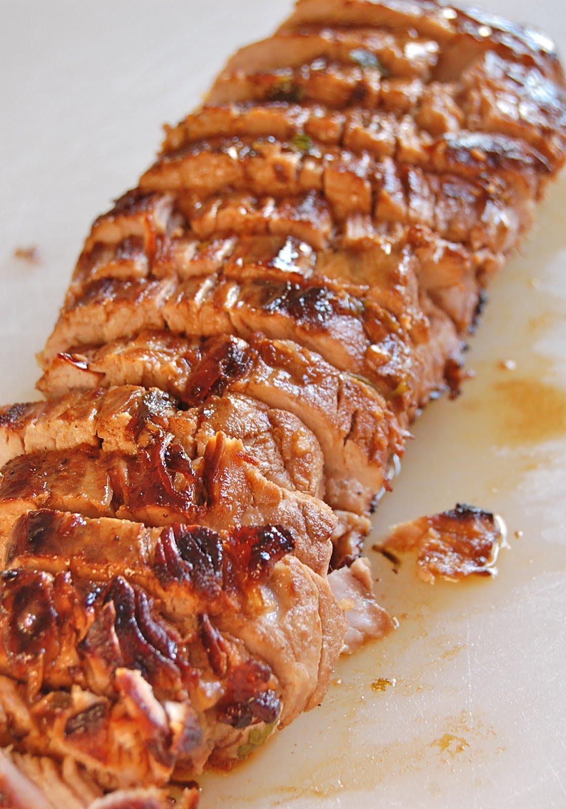 Pork Loin Recipes  Chef Mommy Pork Tenderloin with Pan Sauce