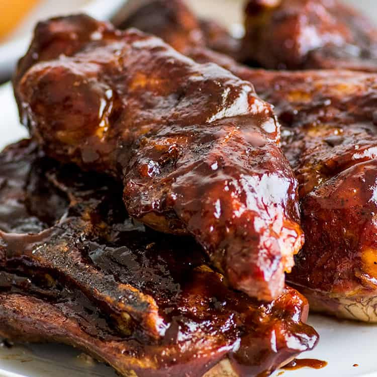 Pork Loin Ribs In Oven  Easy Country Style Pork Ribs in the Oven Baking Mischief