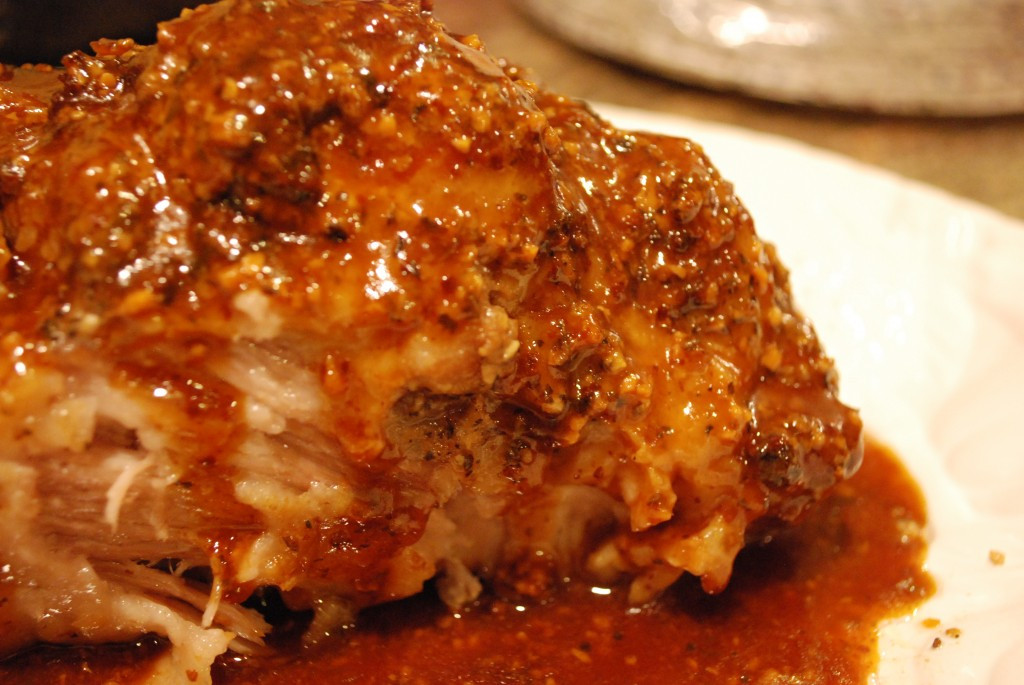 Pork Loin Roast Slow Cooker  Slow Cooker Parmesan Honey Pork Roast