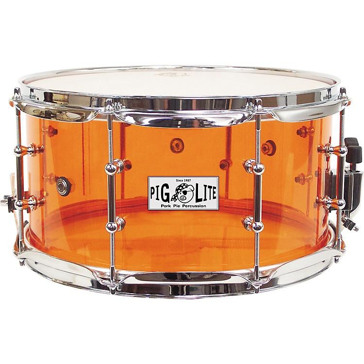 Pork Pie Drums  Pork Pie Pig Lite Acrylic Snare Drum