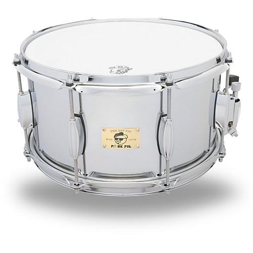 Pork Pie Snare  Pork Pie Hip Pig Chrome Steel Snare Drum