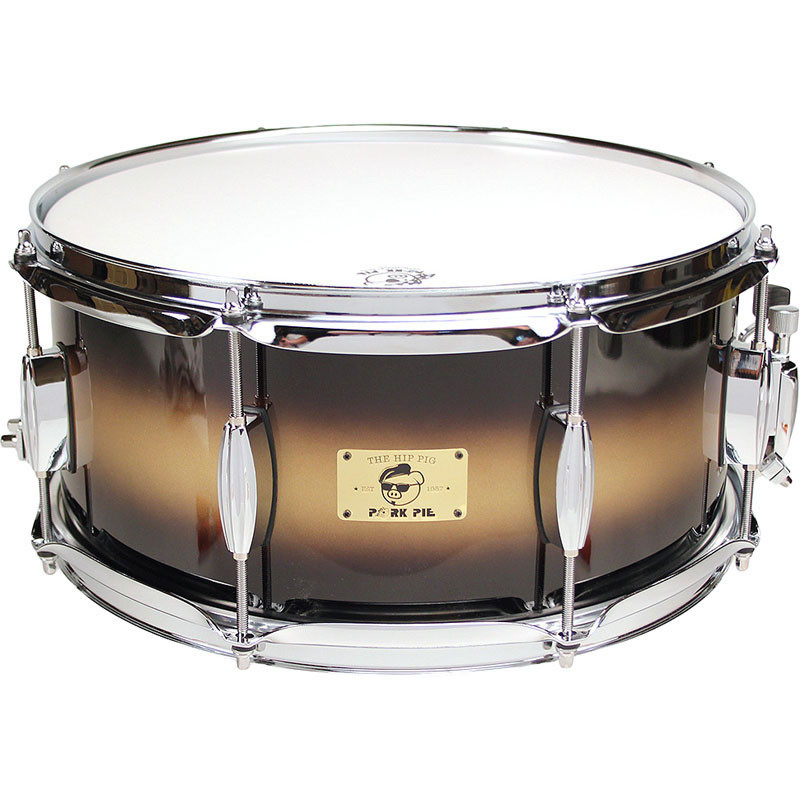 "Pork Pie Snare  Pork Pie Percussion 6 5"" x 14"" Hip Pig Snare Drum"