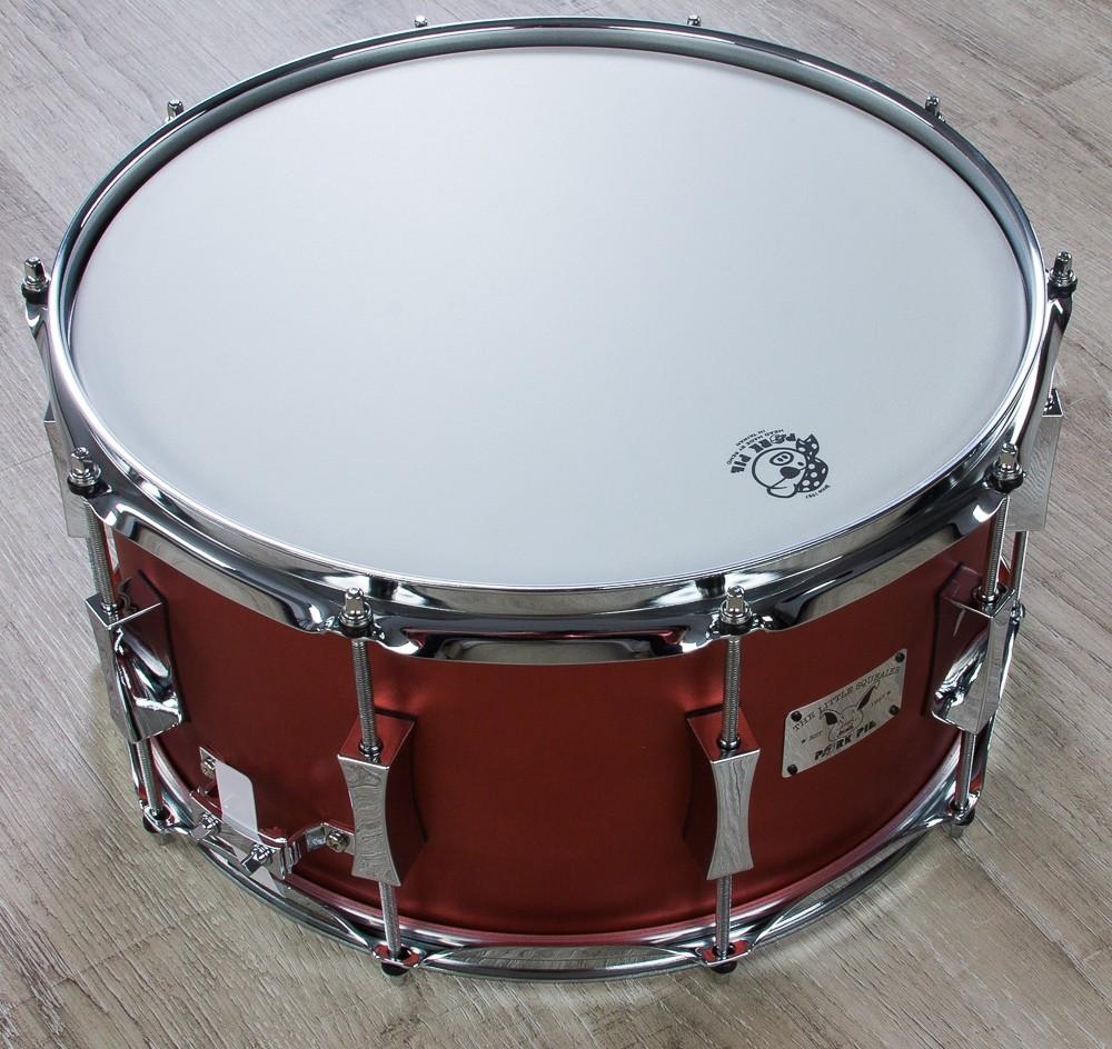 Pork Pie Snare  Pork Pie Percussion Squealer Snare Drum Maple Birch Shell