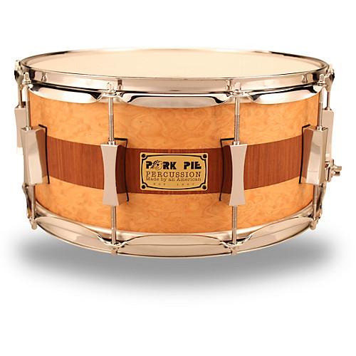 Pork Pie Snare  Pork Pie USA USA Custom Snare Drum 14 x 6 5 in