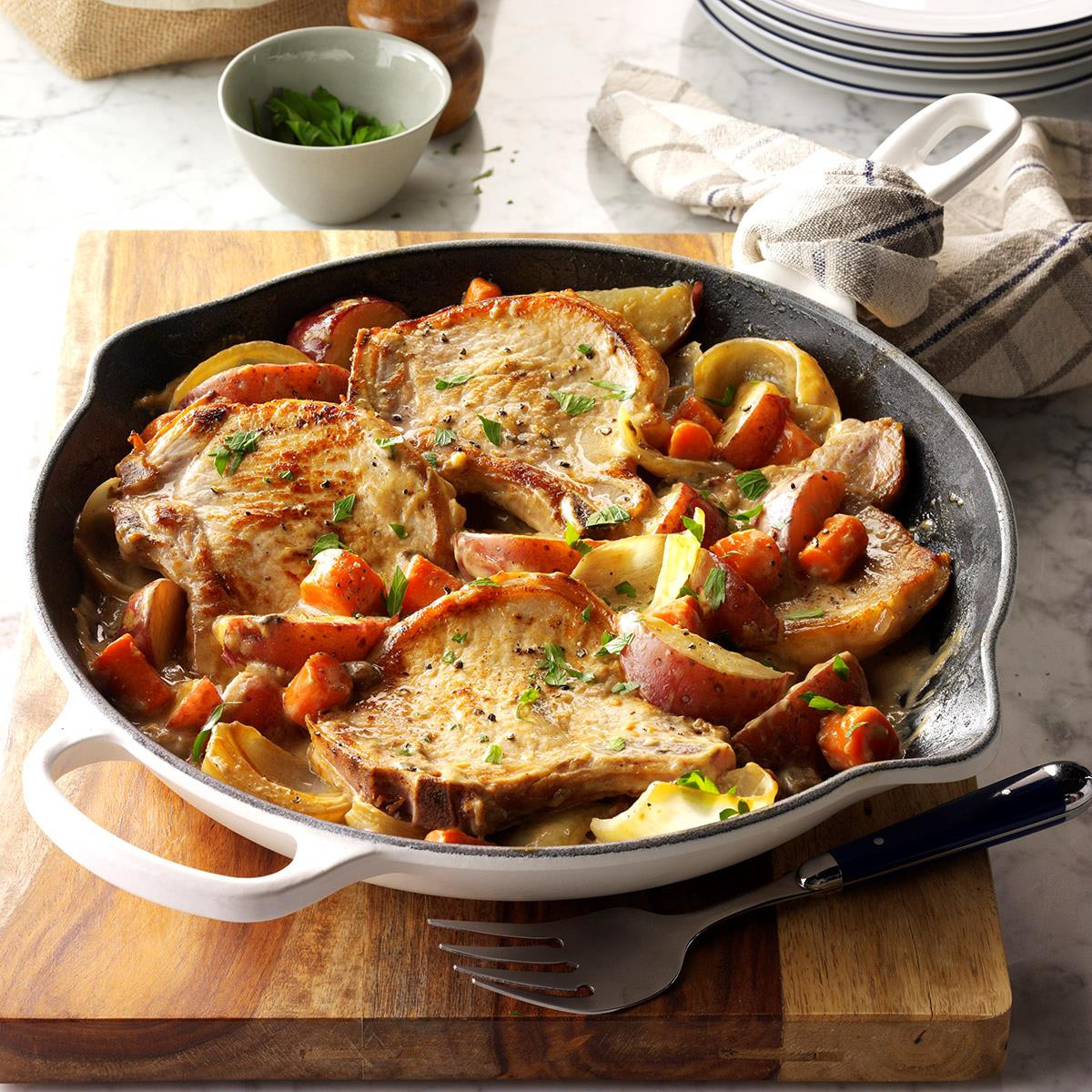 Pork Recipes For Dinner  35 Skillet Dinner Recipes That Will Rock Your World