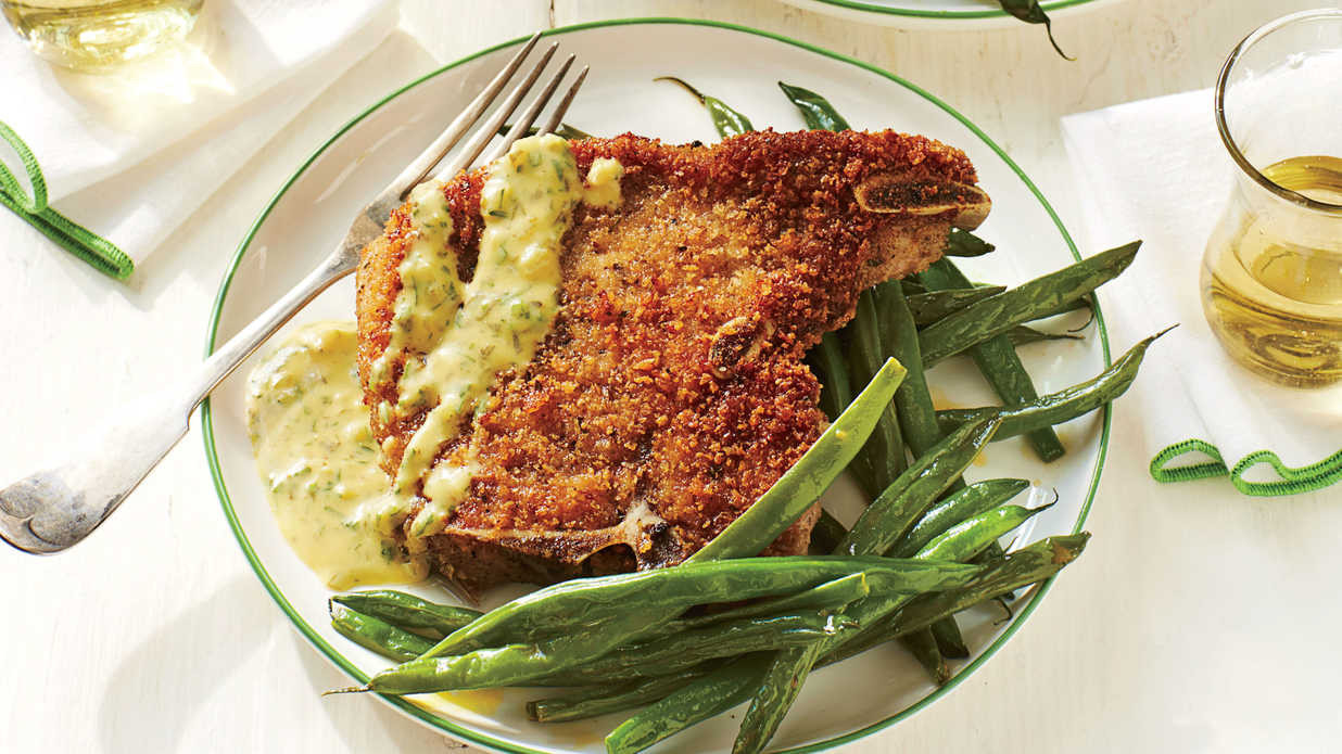 Pork Recipes For Dinner  Flavorful Pork Chop Recipes Southern Living