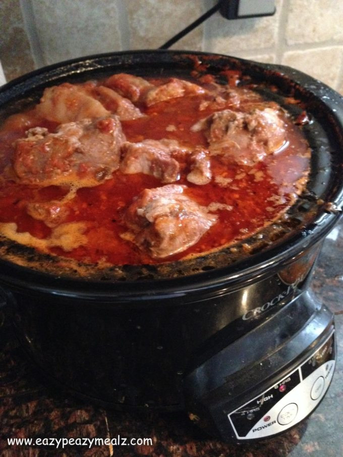 Pork Ribs In Crock Pot  BBQ Country Style Pork Ribs Crock Pot Eazy Peazy Mealz