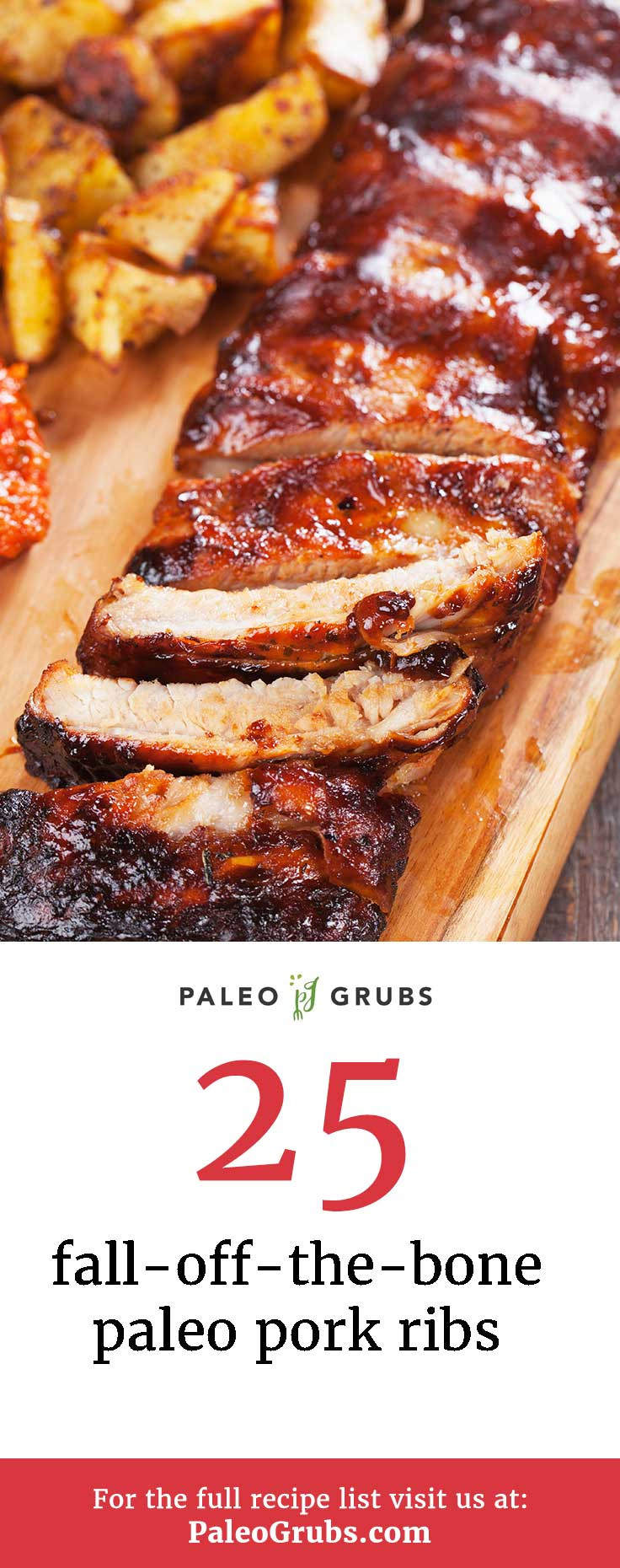 Pork Ribs Recipe  25 Fall f The Bone Paleo Pork Ribs Yummy