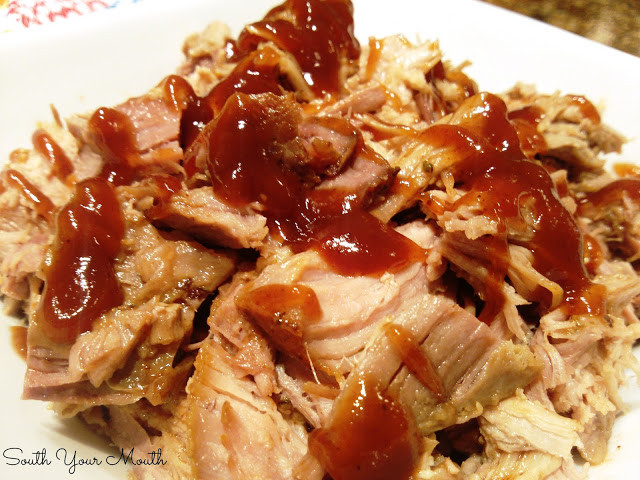 Pork Shoulder Butt Crock Pot  South Your Mouth Crock Pot Pulled Pork with Buzzy's Butt