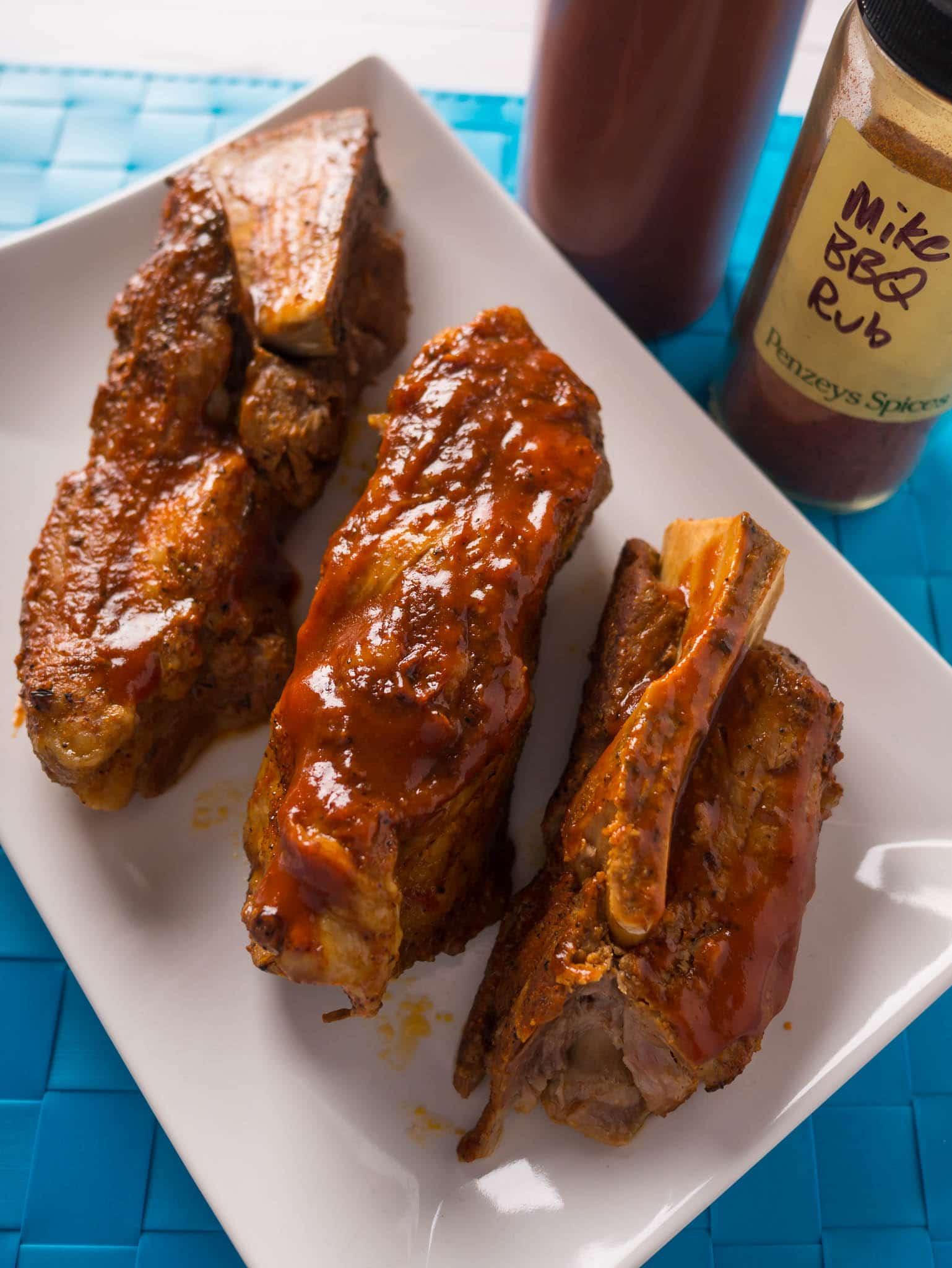 Pork Shoulder Ribs  Pressure Cooker Pork Western Shoulder Ribs with Barbecue