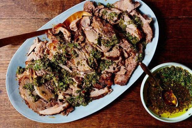 Pork Shoulder Roast Slow Cooker  Pork Shoulder With Zesty Basil Sauce You Can Make Easily