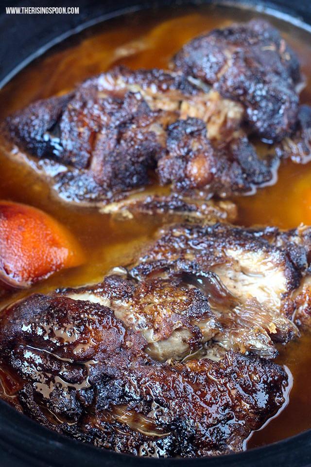 Pork Shoulder Roast Slow Cooker  Slow Cooker Pork Shoulder For Pulled Pork & Carnitas