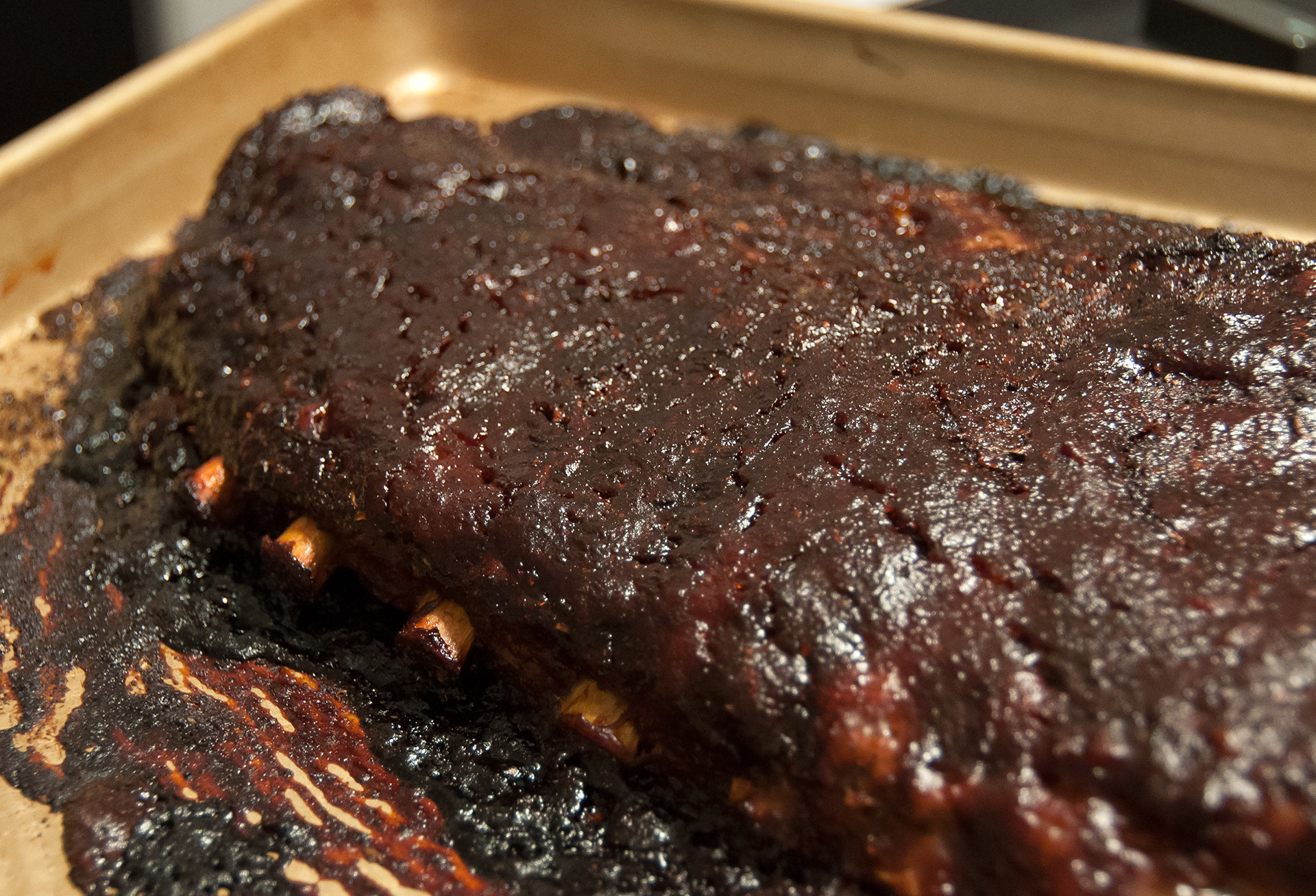 Pork Spare Ribs Oven  Oven Roasted BBQ Spare Ribs