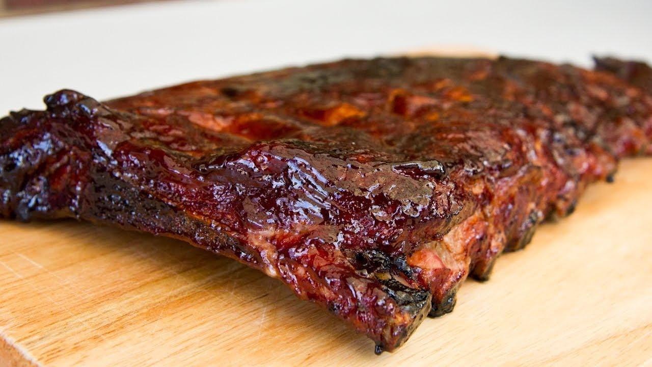 Pork Spare Ribs  Bourbon And Cola Pork Spare Ribs Video Recipe
