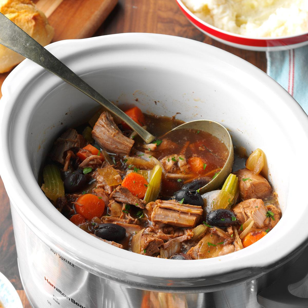 Pork Stew Recipe Slow Cooker  Slow Cooked Pork Stew Recipe