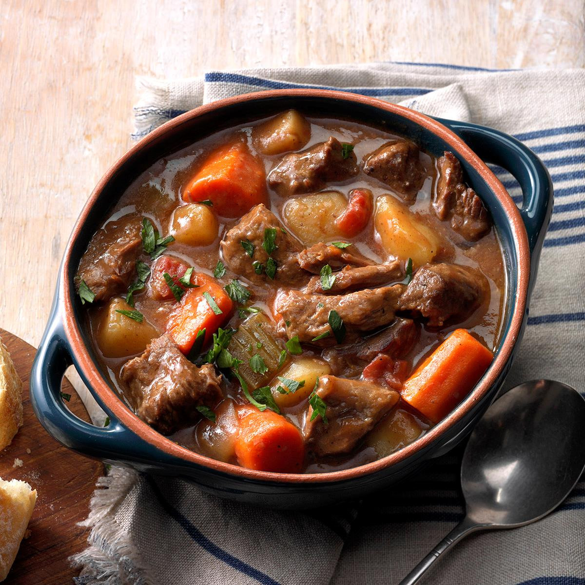 Pork Stew Recipe Slow Cooker  Slow Cooker Beef Stew Recipe