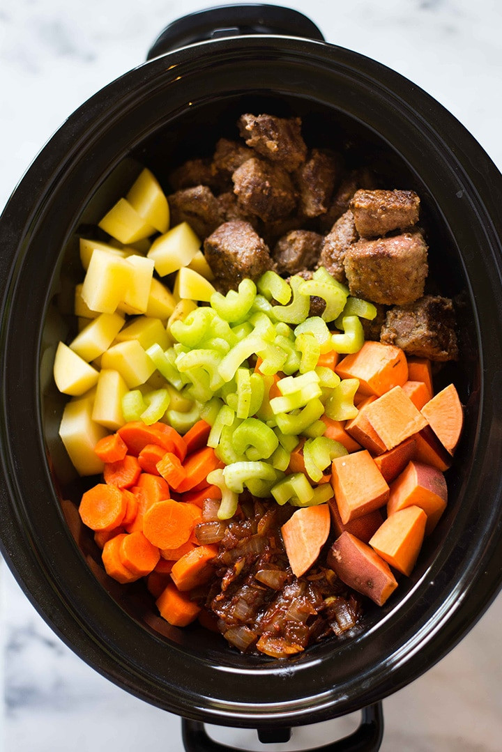 Pork Stew Recipe Slow Cooker  Healthy Slow Cooker Beef Stew Perfect Make Ahead Dinner