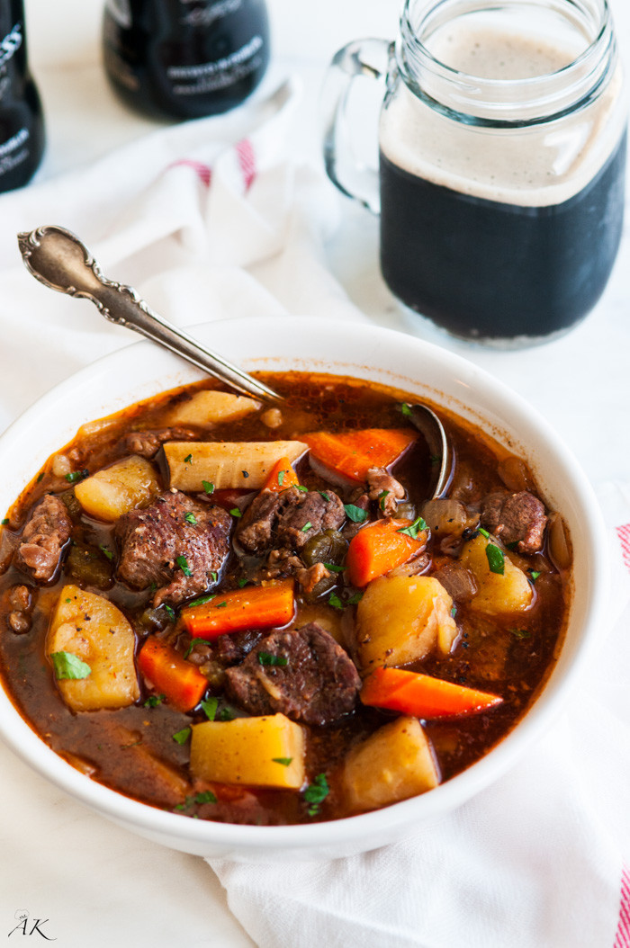 Pork Stew Recipe Slow Cooker  Slow Cooker Guinness Beef Stew Aberdeen s Kitchen