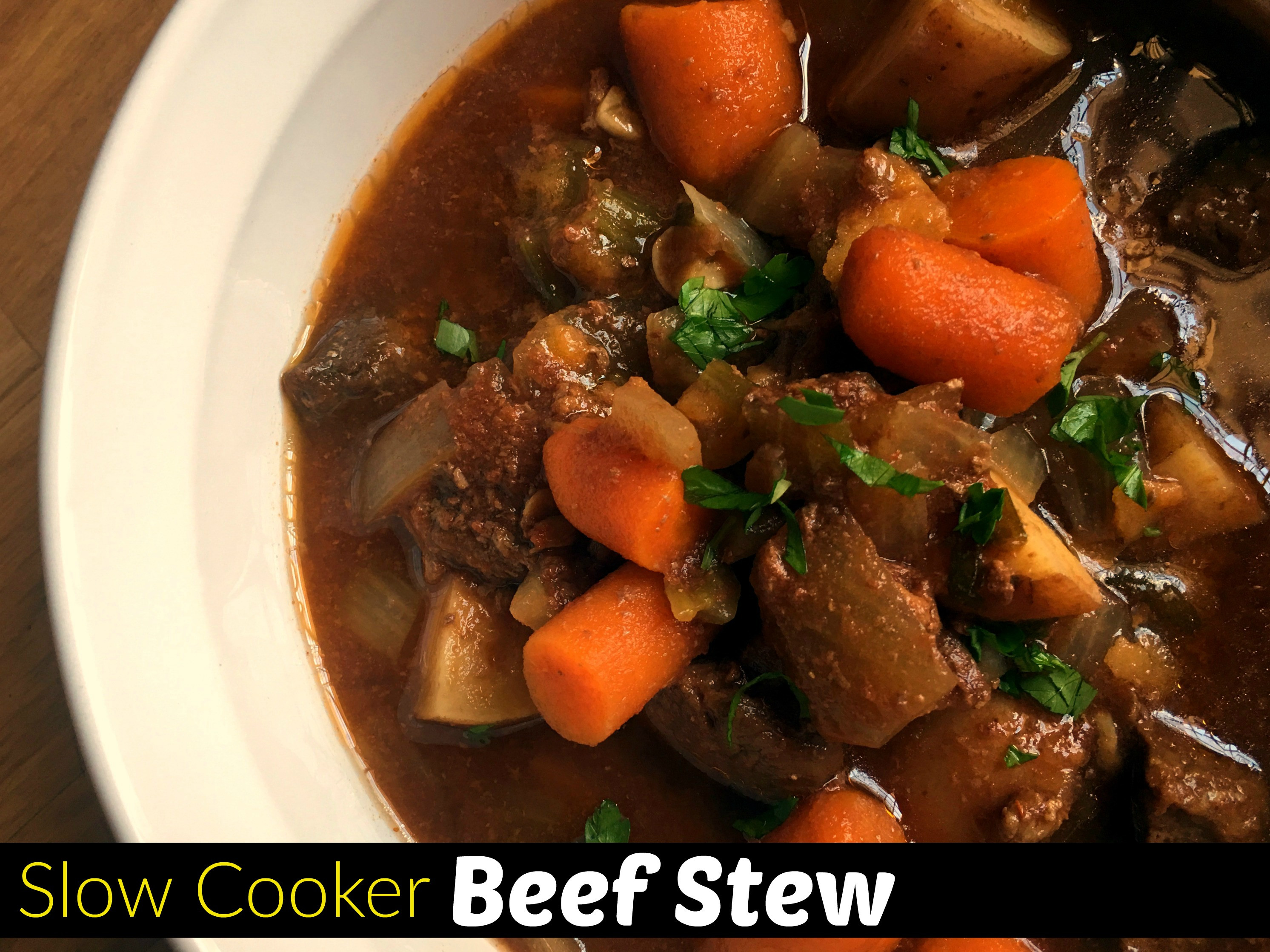 Pork Stew Recipe Slow Cooker  Slow Cooker Beef Stew Aunt Bee s Recipes