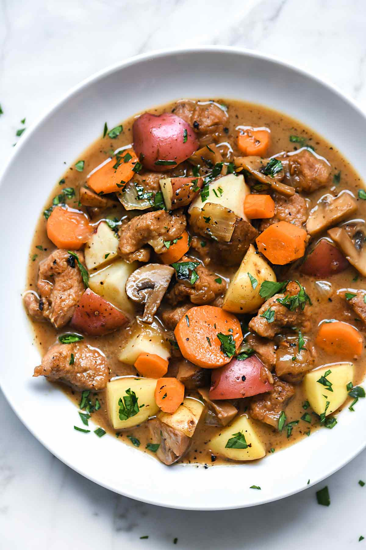Pork Stew Recipes  Irish Pork Stew with Stout and Caraway Seeds