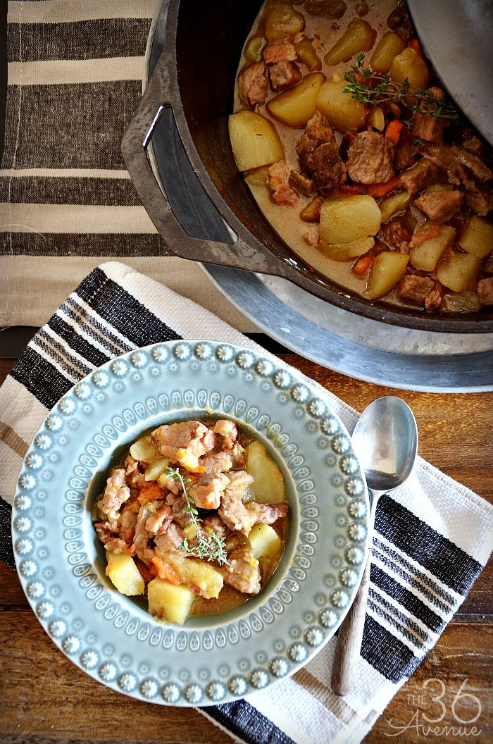 Pork Stew Recipes  e Pan Pork Stew Recipe The 36th AVENUE